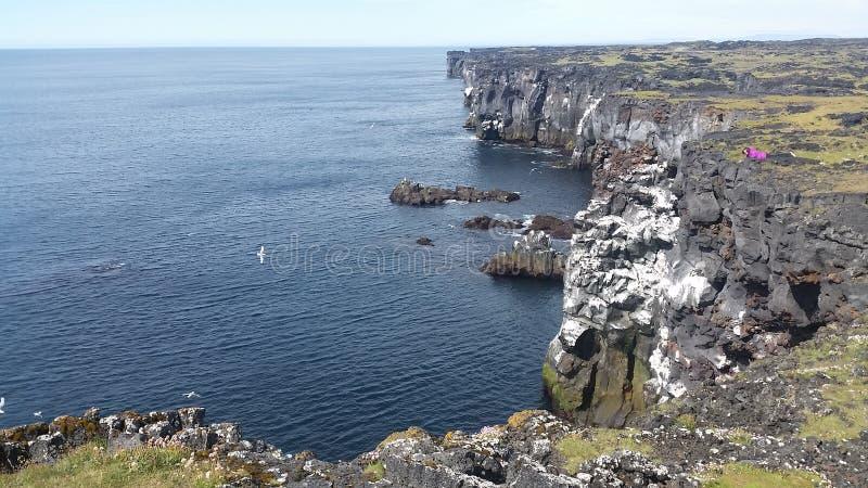 Iceland west shore stock photography