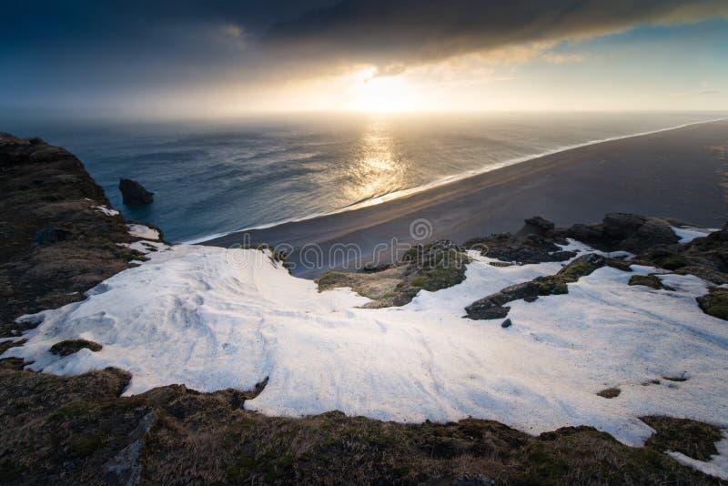 icelandic ландшафт стоковая фотография rf