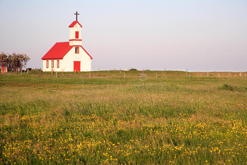 Icelandic church royalty free stock images