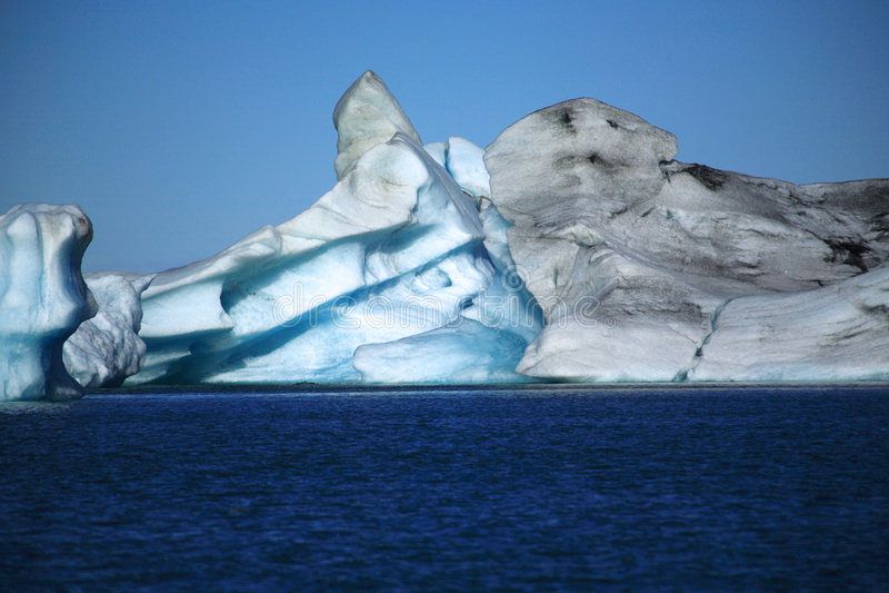 icelandic góry lodowej obraz stock