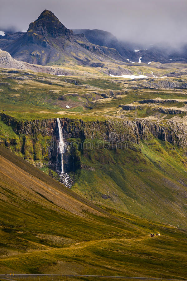 Icelandic glaciers - Snæfellsjökull stock photos