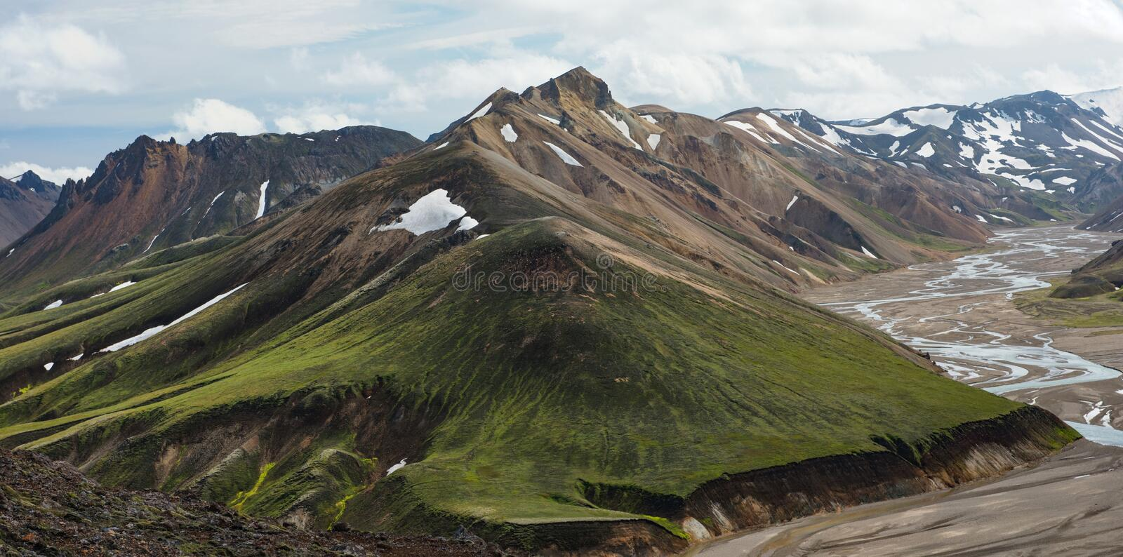 Icelandic highlands stock photos