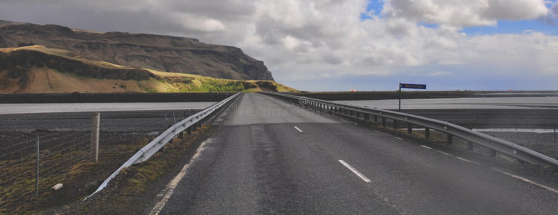 Icelandic Highway Royalty Free Stock Photo