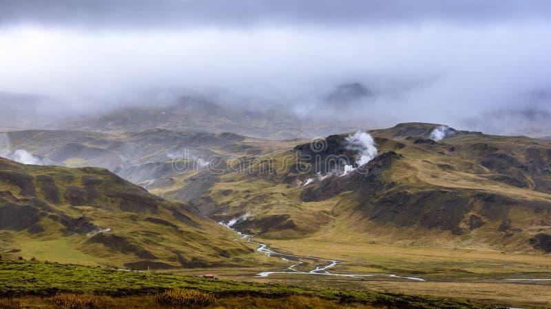 icelandic krajobrazu zdjęcie stock