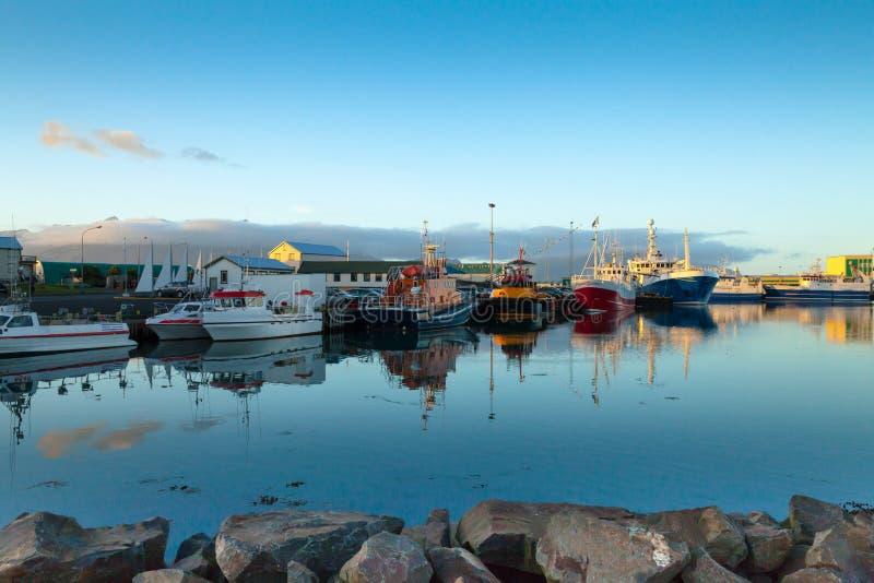 Icelandic seascape hornafjordur stock image