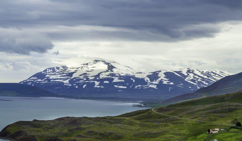 Icelandic wybrzeże zdjęcia royalty free
