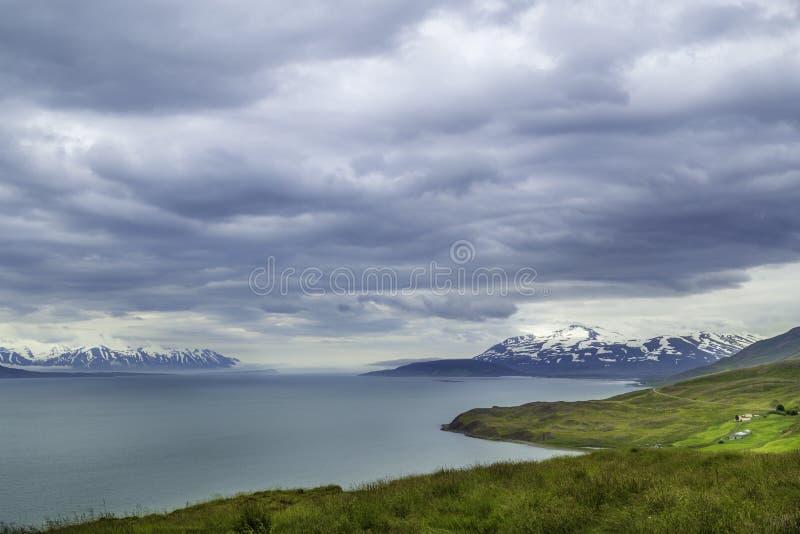 Icelandic wybrzeże obraz stock