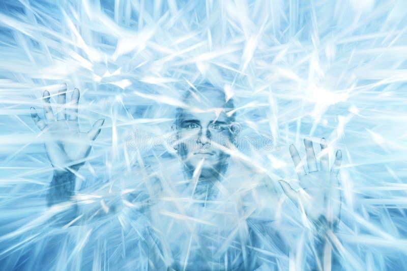 Iceman ilustração stock