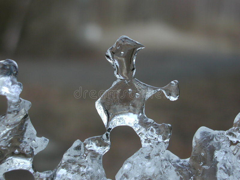 Download Iceman stock image. Image of reflection, frozen, crystal - 37703