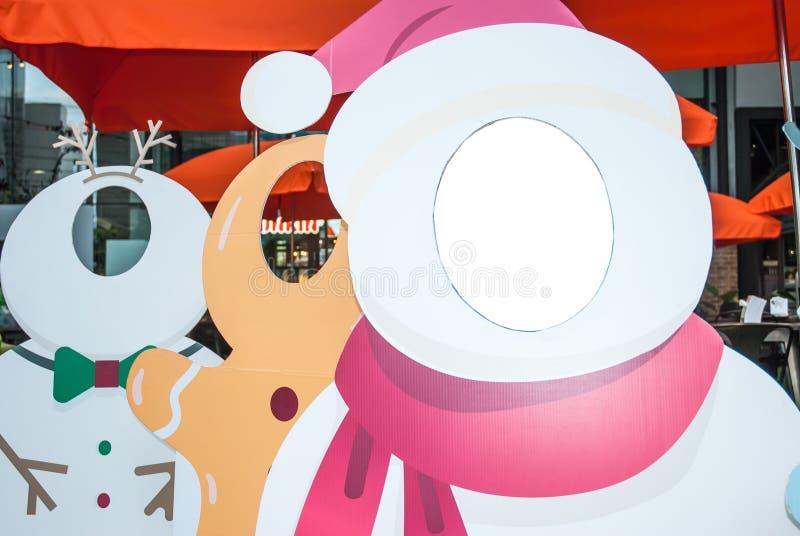 Iceman do Natal imagem de stock