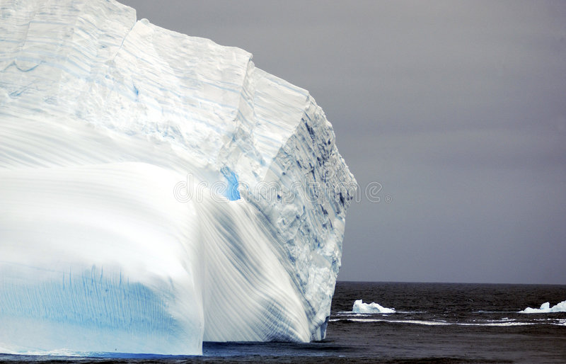 Icesberg at the sea stock photos