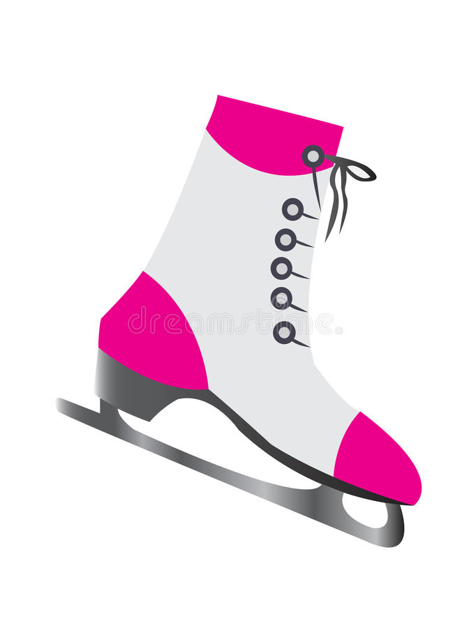 Download Iceskate stock vector. Image of figure, black, foot, isolated - 17314639