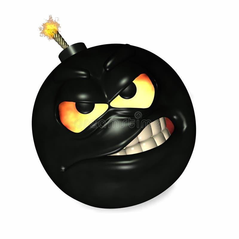 Ich bin das Bomben-Schätzchen lizenzfreie abbildung
