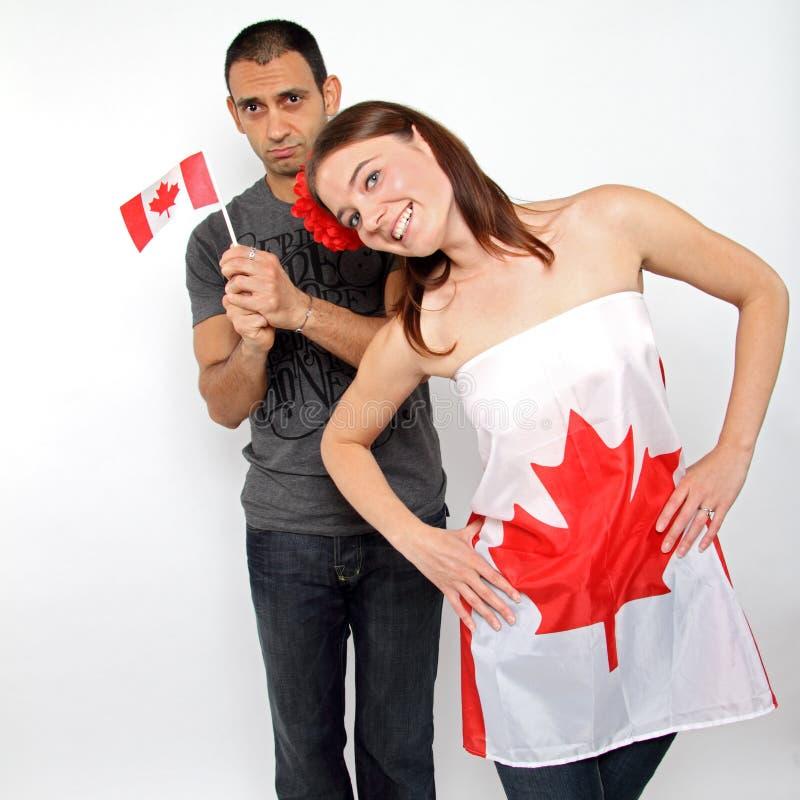 Ich bin kanadisch stockfotos
