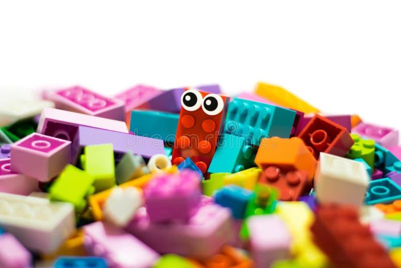 Ich bin LEGO lizenzfreies stockbild
