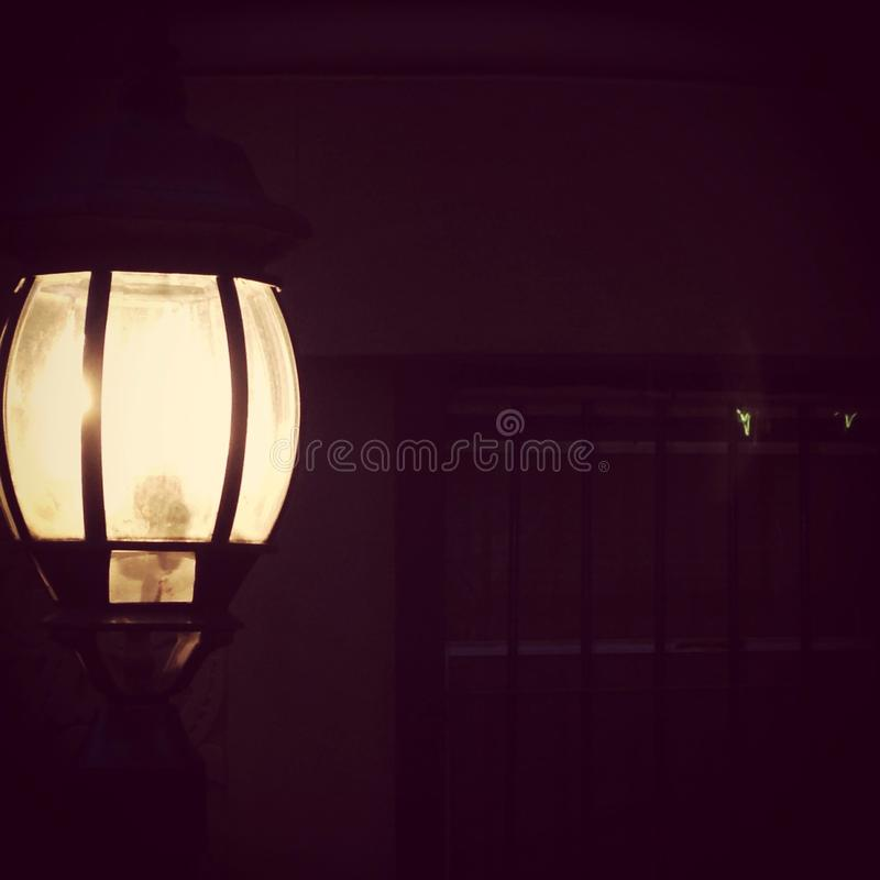 Ich fand das Licht stockfotos