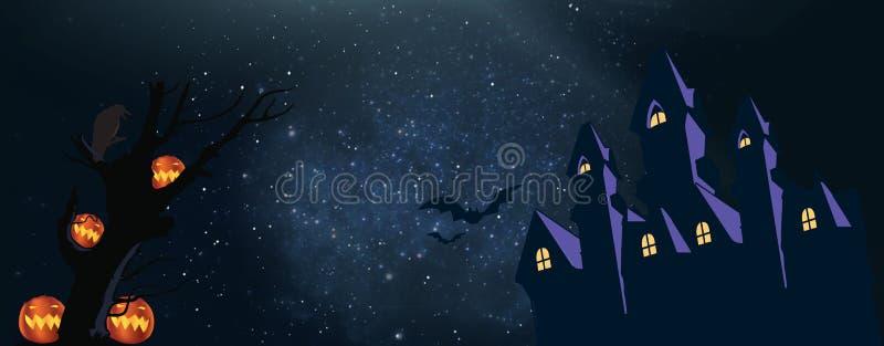 Ich hoffe, dass Sie ein großes Halloween haben AUFENTHALTS-SAFE lizenzfreie abbildung
