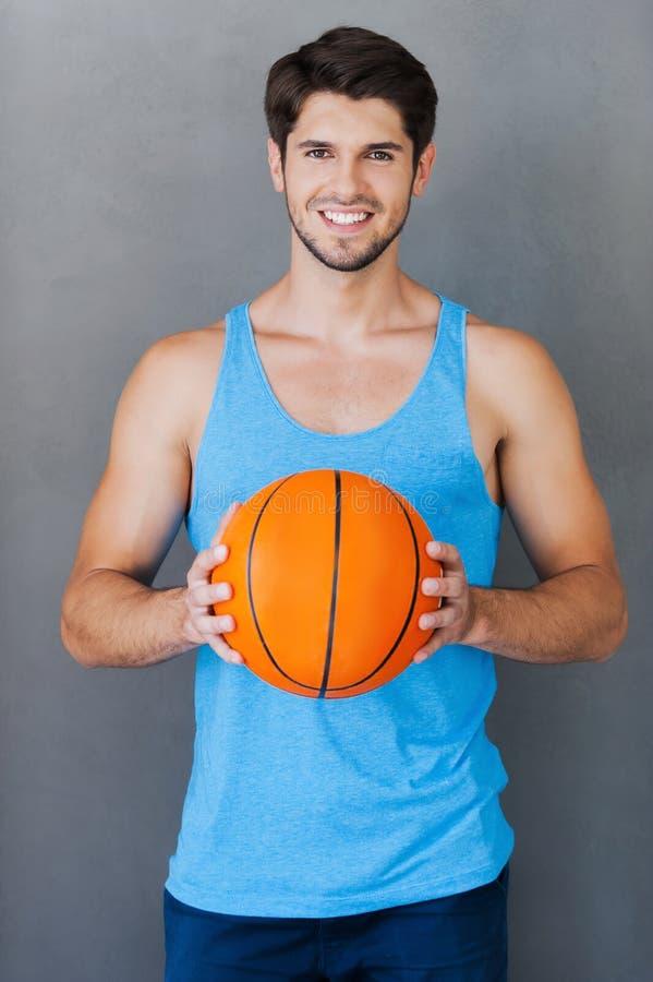 Ich liebe Basketball! lizenzfreie stockfotografie