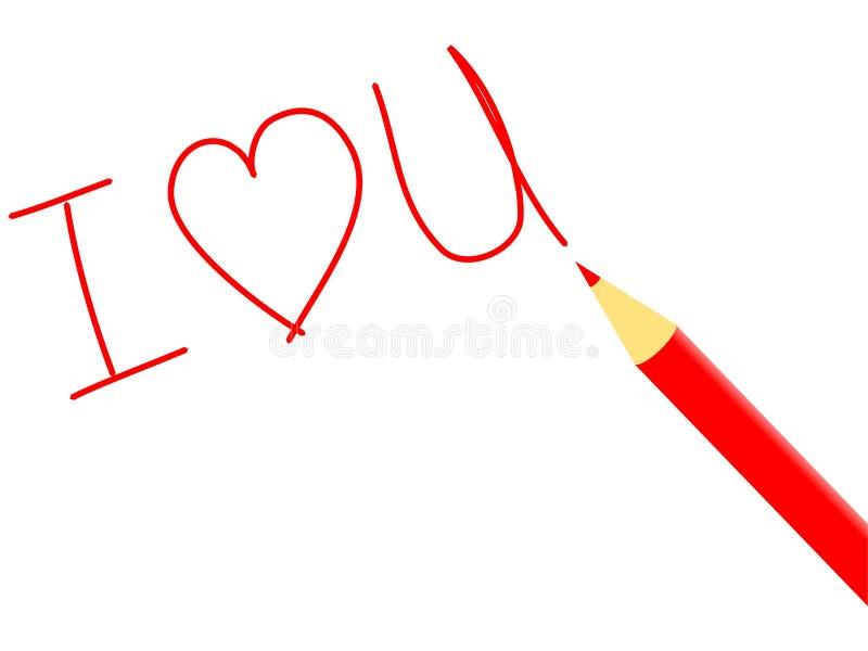 Ich liebe dich 4 vektor abbildung