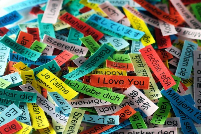 Ich liebe dich stockbild. Bild von marke, liebe, spanisch