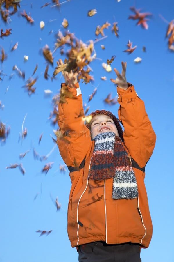 Ich liebe Herbst stockfoto