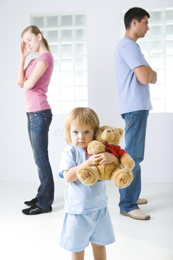 Ich liebe meinen Teddybären lizenzfreies stockfoto