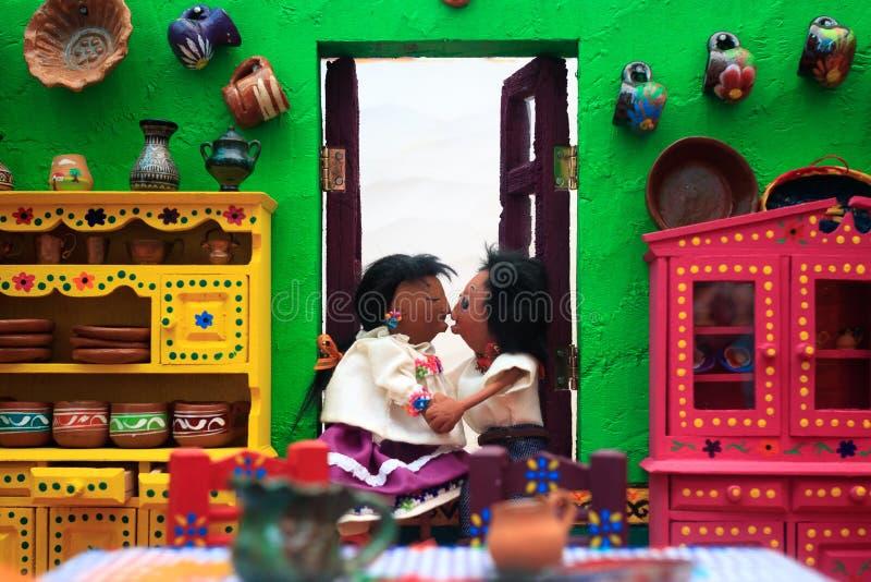Ich liebe Mexiko-Museum stockfotos