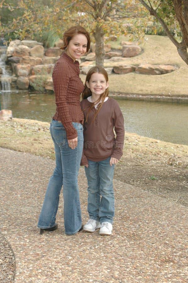 Ich und Mamma lizenzfreie stockbilder