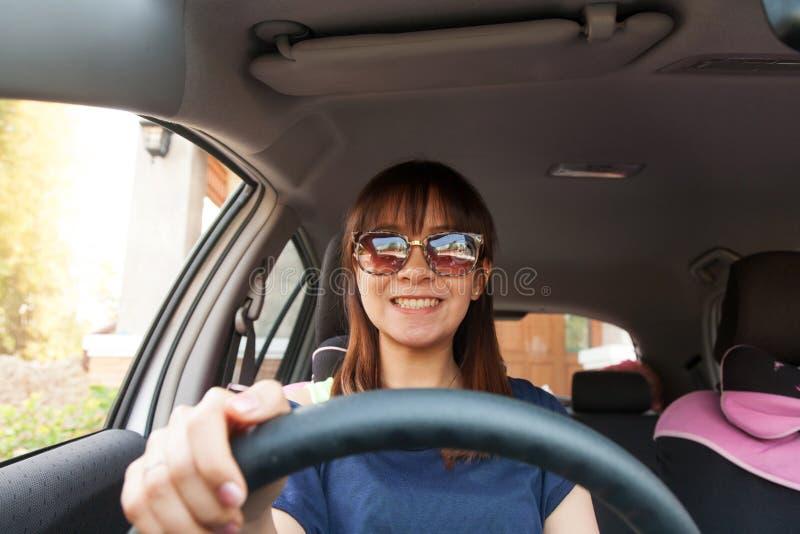 Ich und mein Auto lizenzfreies stockfoto