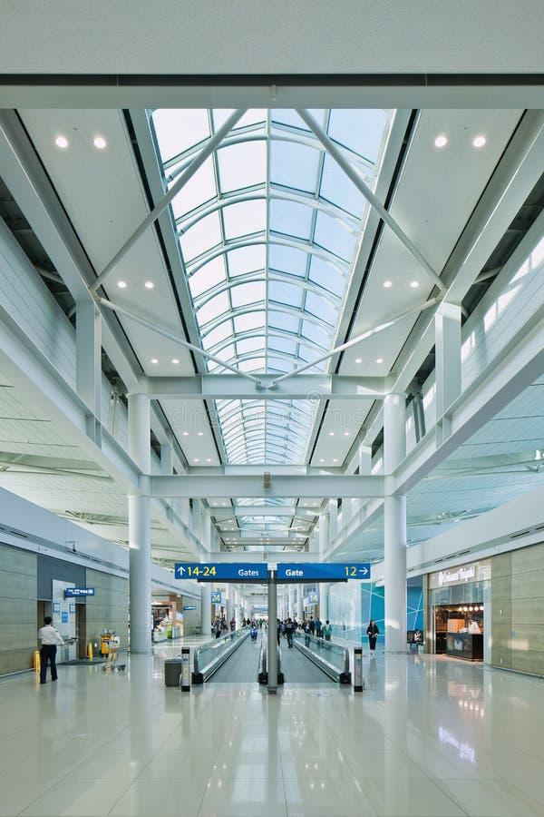 Icheon International Airport interior, Seoul, South Korea. SEOUL-OCT. 24, 2015. Incheon International Airport interior. It is South Korea largest airport stock photos