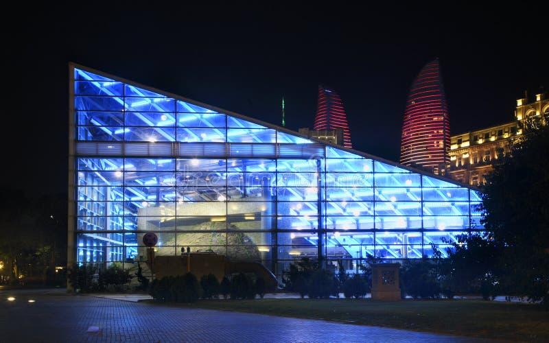 """""""Icheri Sheher† stacja metru w Baku Azerbejdżan fotografia stock"""