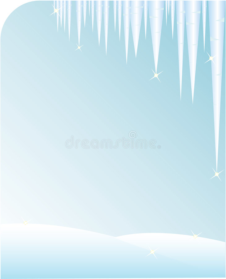 Download Icicle background stock vector. Illustration of froze - 6757827