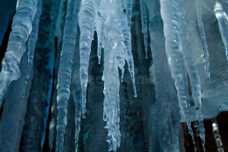 Icicle Cave stock photography