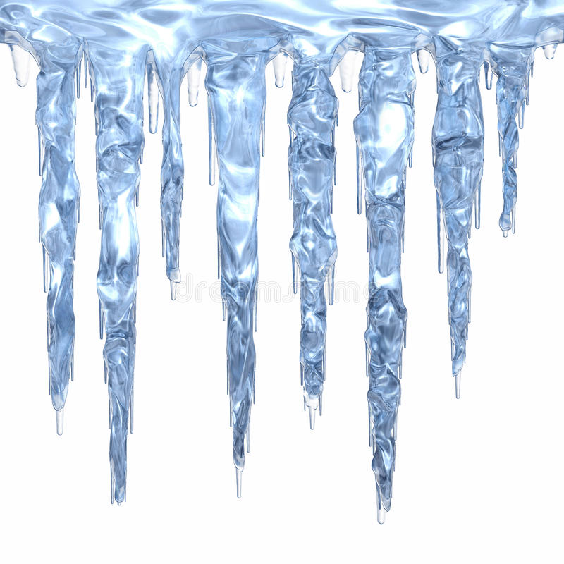 Free Icicle Cluster Royalty Free Stock Images - 12897349