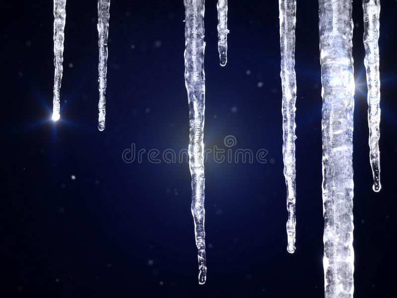 Download Icicles Shine Stock Photo - Image: 26824830