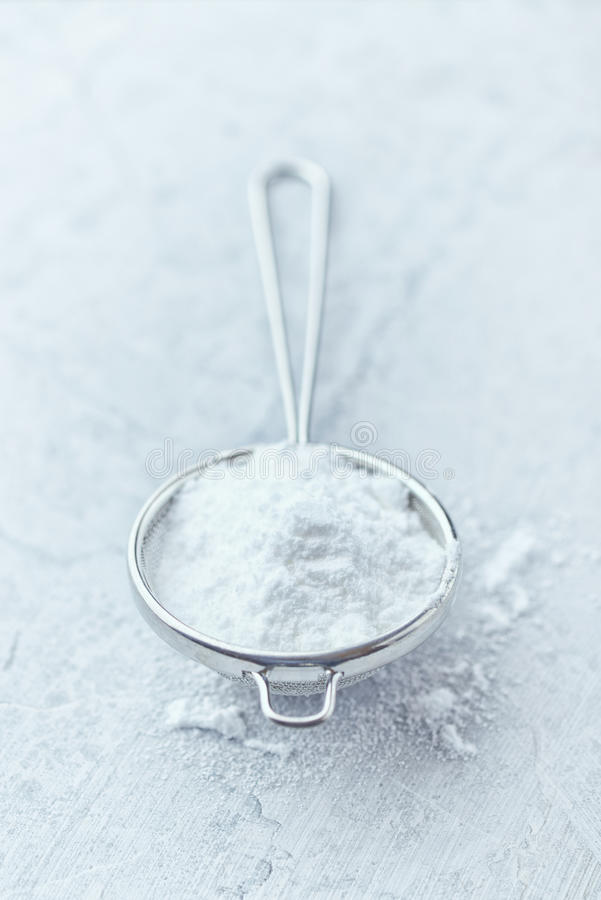 Icing Sugar Royalty Free Stock Images