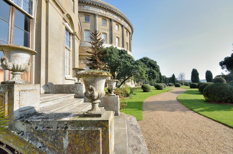 Ickworth rotundy suffolk fotografia royalty free