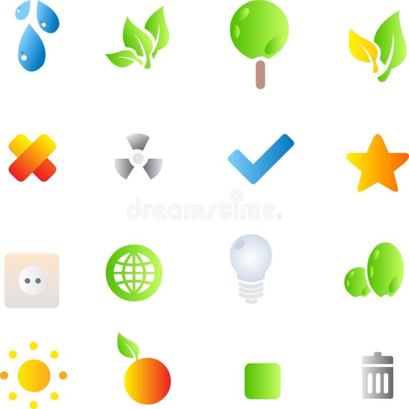 ico lustré illustration de vecteur