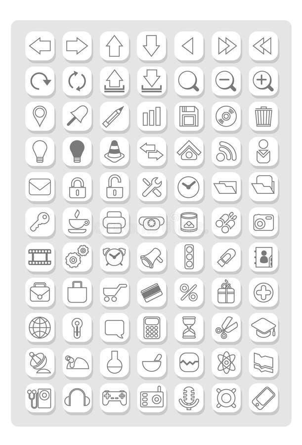 Icon1 royalty-vrije stock fotografie