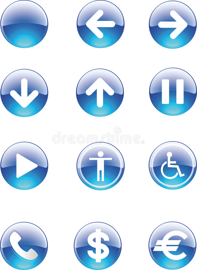 Download Icon stock illustration. Image of elements, other, pulsant - 5021364