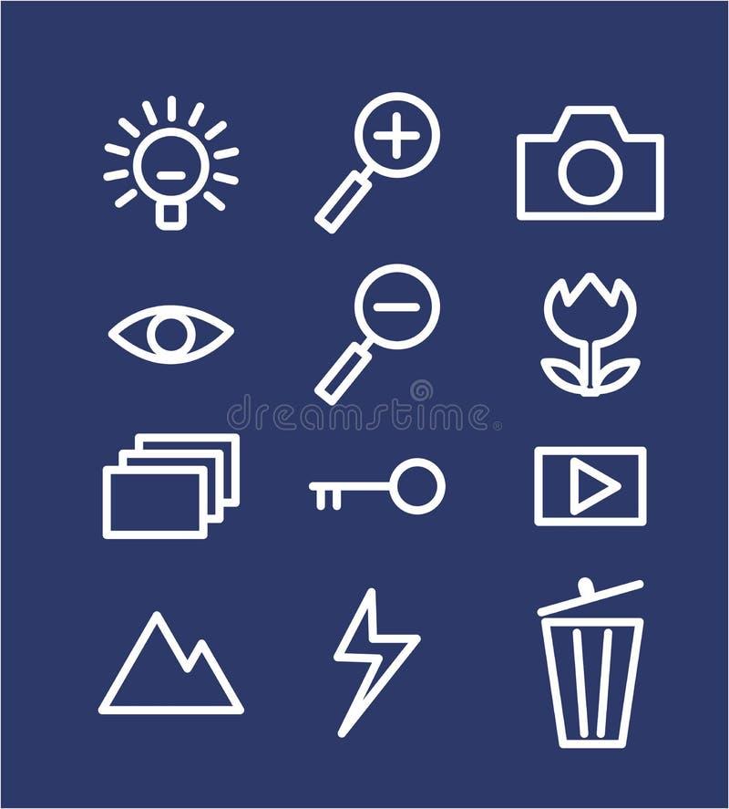 Icon royalty free illustration