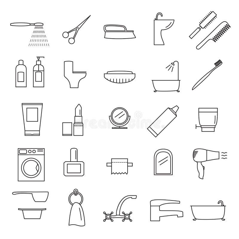 Icon_bathroom libre illustration