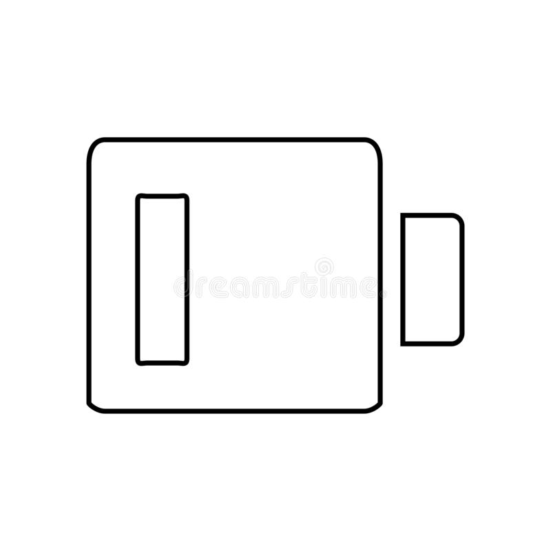 Battery icon. Power energy symbol. Ä°con, battery, energy, electricity, electronic, power, symbol, sign, charge, electrical, accumulator, empty, alkaline, full royalty free illustration