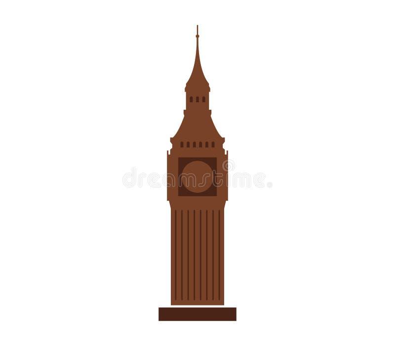 Download Icon Big Ben illustrated stock illustration. Illustration of style - 88192112
