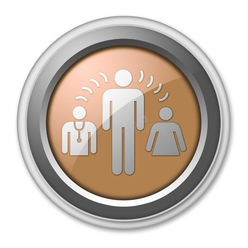 Icon, Button, Pictogram Interpreter Services. Icon, Button, Pictogram with Interpreter Services symbol royalty free illustration