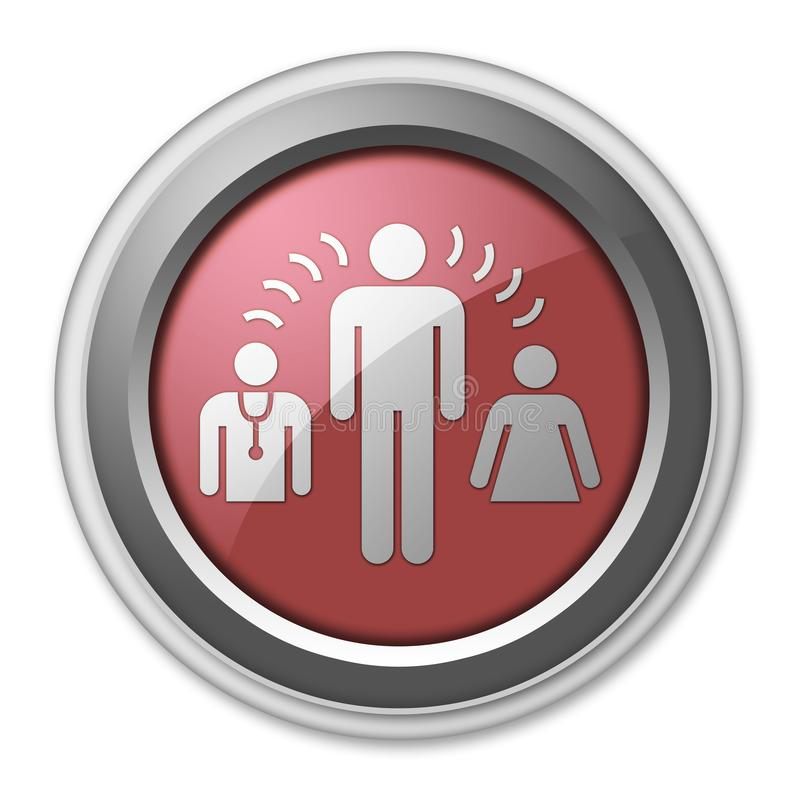 Icon, Button, Pictogram Interpreter Services. Icon, Button, Pictogram with Interpreter Services symbol vector illustration
