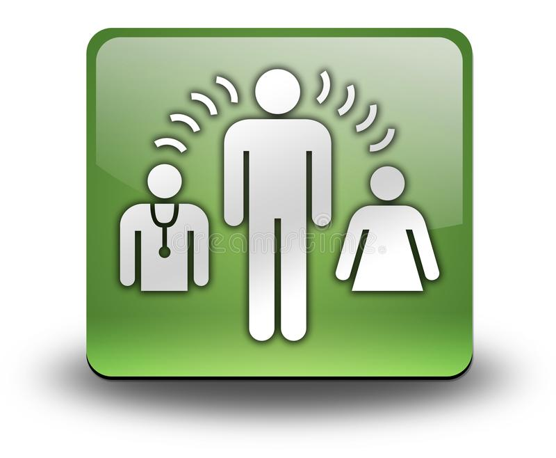 Icon, Button, Pictogram Interpreter Services. Icon, Button, Pictogram with Interpreter Services symbol stock illustration