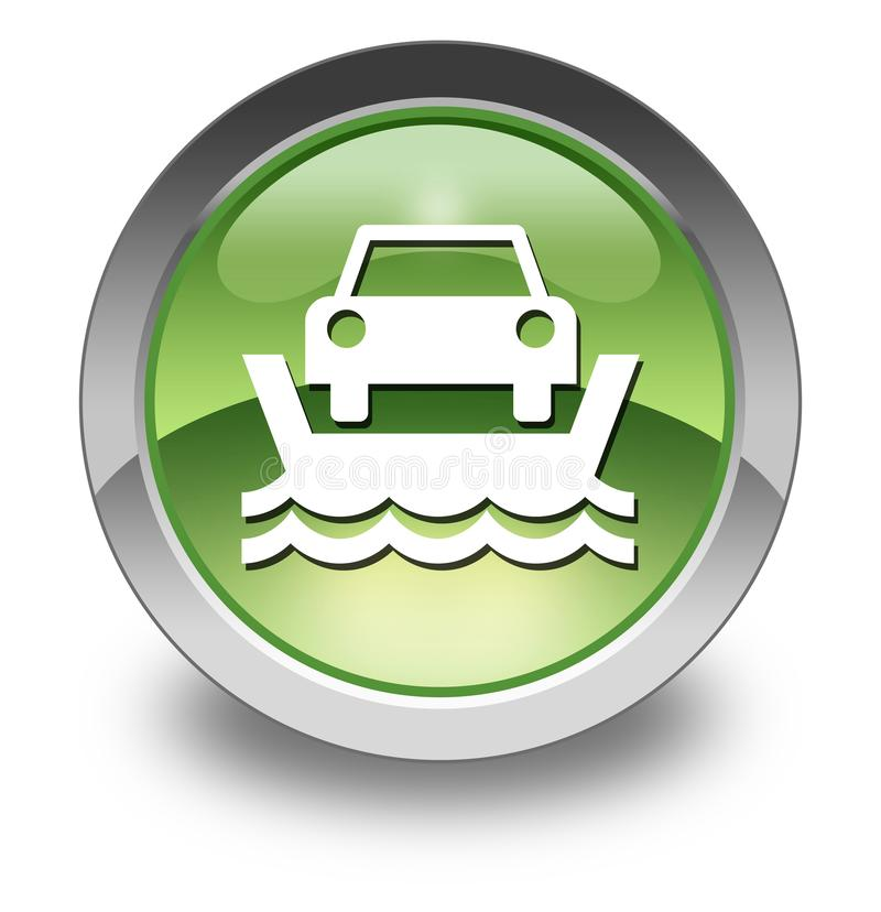 Icon, Button, Pictogram Vehicle Ferry royalty free illustration