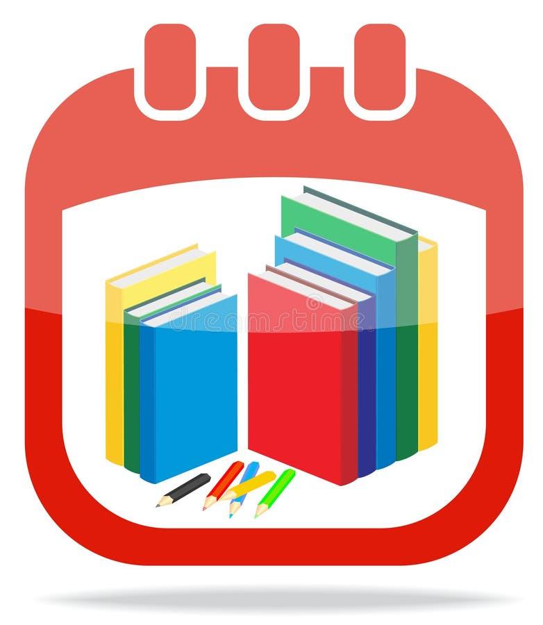 Download Icon Calendar Days Of Knowledge Stock Vector - Illustration of illustration, light: 26075985