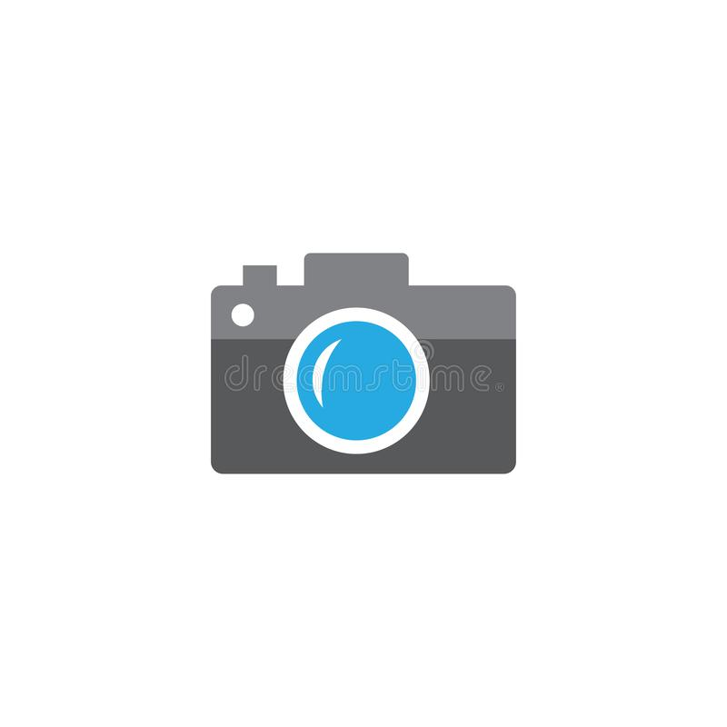 Icon camera vector. flat style design. Photo shooting. Vector illustration. Isolated antique camera vector illustration